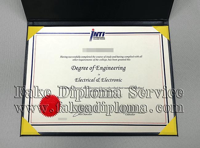 Fake International College Penang Degree, Fake INTI Diploma