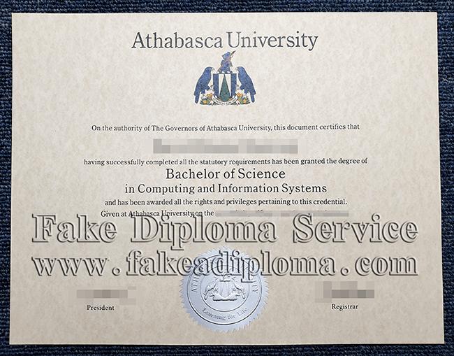 fake Athabasca University Diplomas, fake Athabasca University degree.