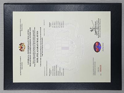 Get Sijil Pelajaran Malaysia Fake Certificate, Buy Fake SPM Diploma Certificate