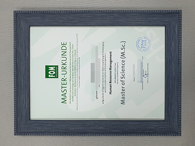 High-Quality FOM Diploma With A Delicate frame
