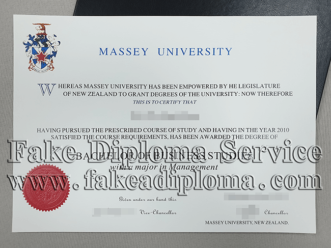 Massey University Fake Diplomas