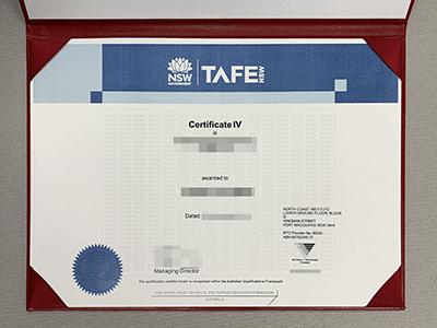 Buy Fake TAFE NSW Certificate Online