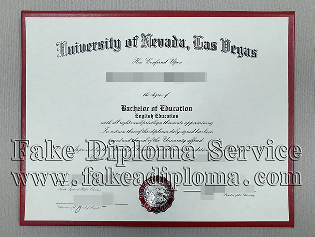 Get University of Nevada Las Vegas Degrees Online, Buy a Fake UNLV Diploma