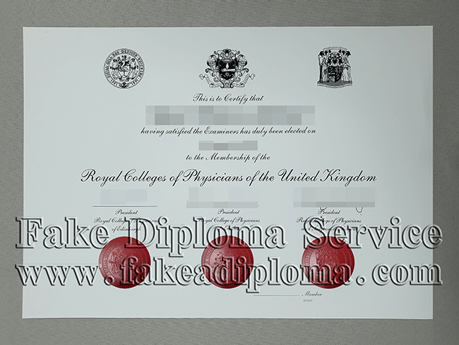 Royal College of Physicians of London Fake Diploma
