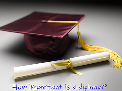 What Do You Think of The Diploma?