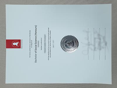 Buy Fake Brock University Diplomas Online, Get Fake Brock University Degree Certificate