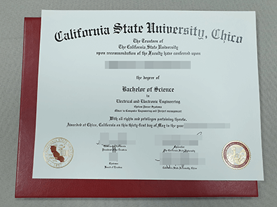 Copy California State University-Chico Fake Diploma Online