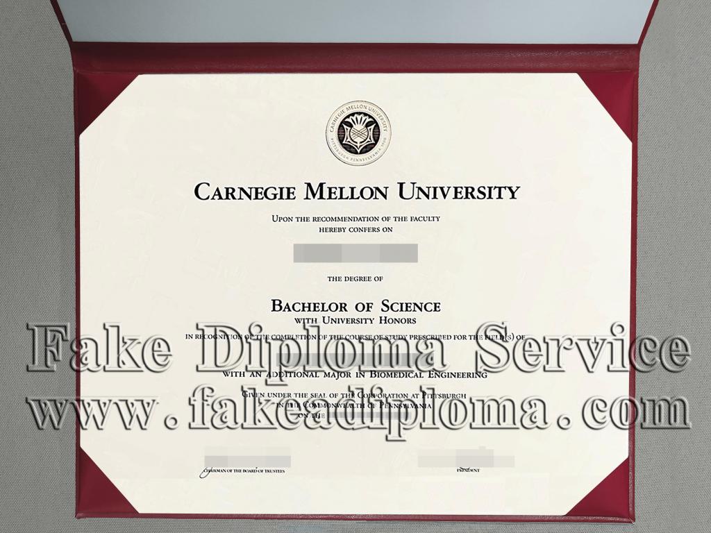 Carnegie Mellon University Fake Diploma