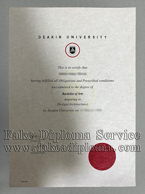 Get Deakin University Degree