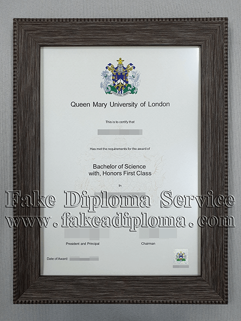 Queen Mary University of London Diploma