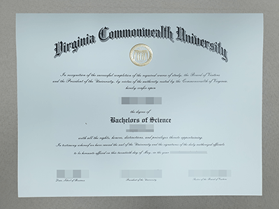 Buy Virginia Commonwealth University Diploma, Fake VCU Degree Certificate