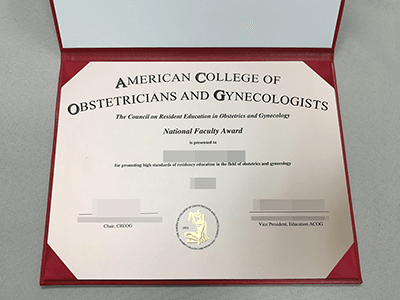 Get American College of Obstetricians and Gynecologists Certificate(ACOG)