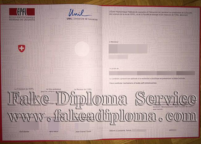 EPFL Diploma