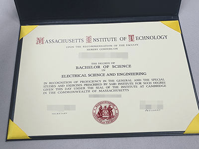 The Highest Diploma(Massachusetts Institute of Technology Fake Diploma)