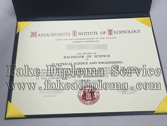 Massachusetts Institute of Technology Fake Diploma