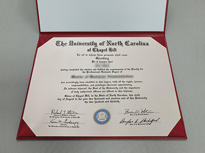 University of North Carolina at Chapel Hill Diploma Your Way To Success