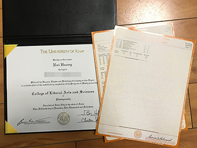 The University of Lowa Fake Diploma And Fake Transcript