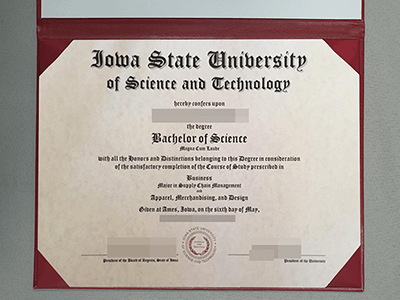 A Fake Diploma From Iowa State University, ISU Fake Degree