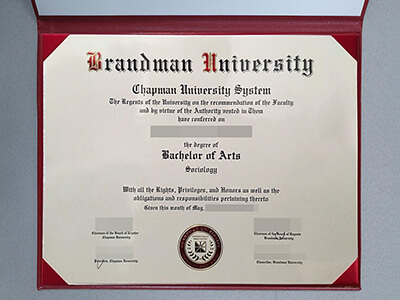 Get A Brandeis University Fake Diploma in Three Days, Copy Brandeis Fake Degree
