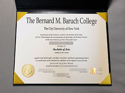 Purchasing A Bernard M.Baruch College Fake Degree Online