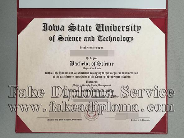 Iowa State University diploma, ISU Degree
