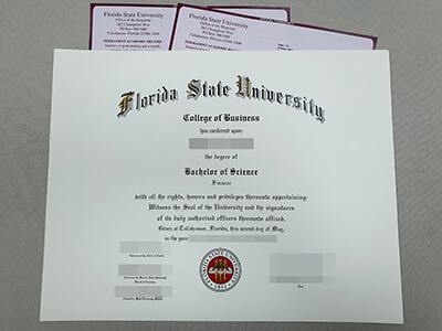 Copy A Fake Florida State University Diploma(FSU Fake Transcript)