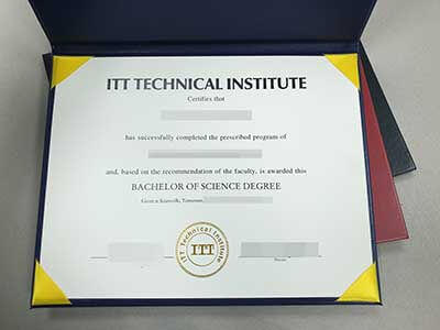 Purchasing Fake ITT Technical Institute Certificate Online