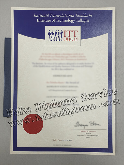 Institute of Technology Tallaght Fake Diploma