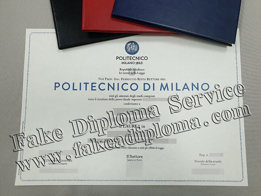 Get Polytechnic University of Milan Fake Diploma, Acquista il Diploma POLIMI