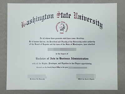 Fake WSU Diploma, How to Apply for A Washington State University Fake Degree?