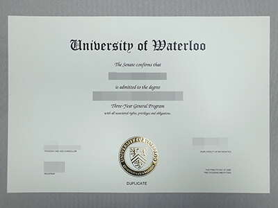 Waterloo(UW) Fake Degree, Get Fake University of Waterloo Diploma Online