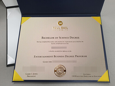 Full Sail University Diploma, Full Sail Degree, US University Degree