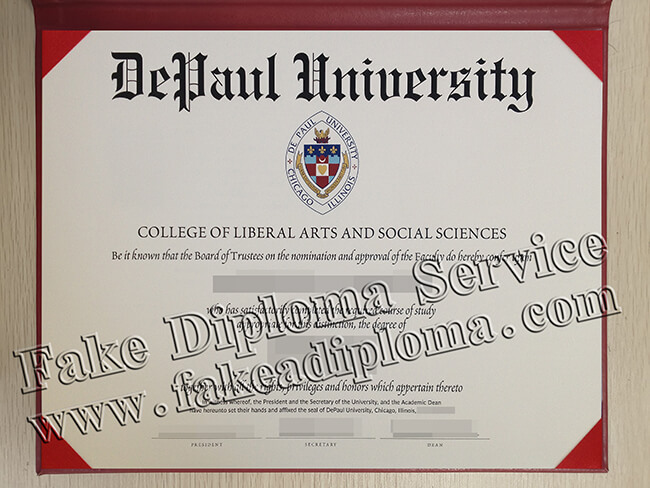 DePaul University Diploma, DPU Degree