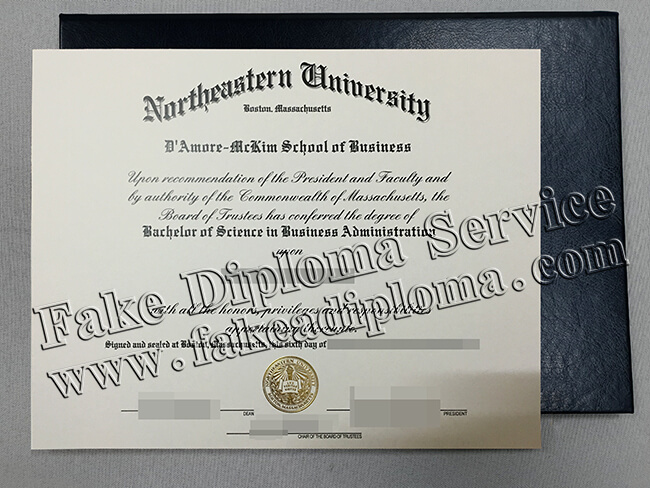 Northeastern University Diploma(NEU Degre)
