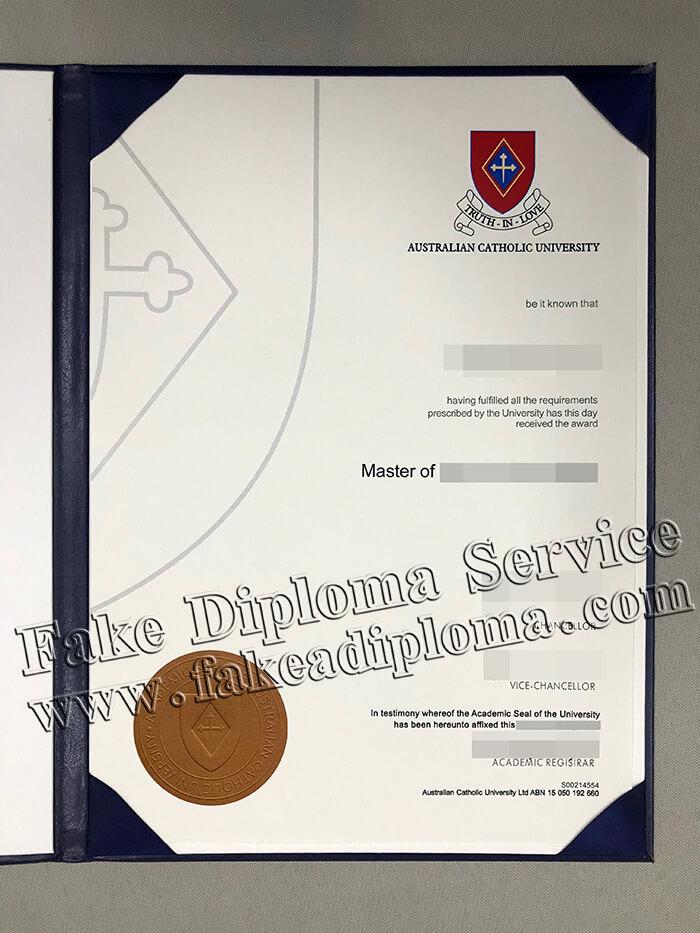 ACU Degree, Quickly Print The Diploma of Australian Catholic University