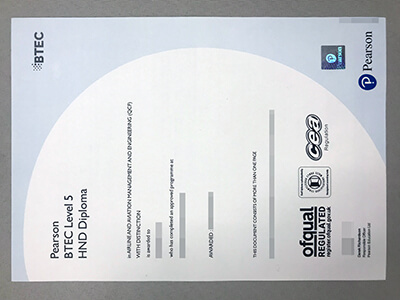 BTEC Level5, Purchase BTEC Certificates