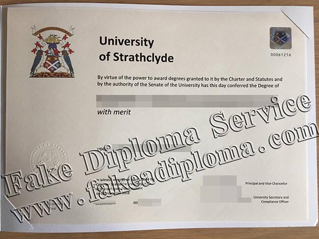 University Of Strathclyde Fake Diploma