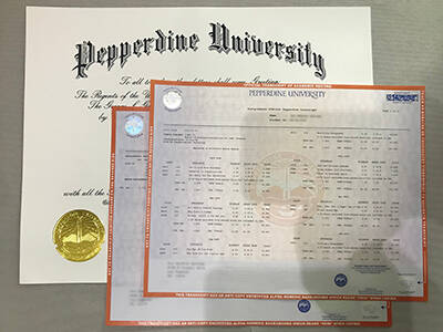 Copy 100% Fake Pepperdine University Diploma