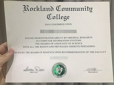 Use a Fake Rockland Community College Diploma to Find Work