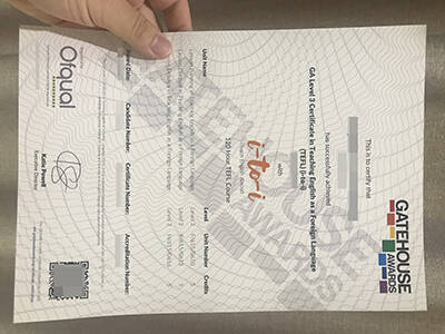 Buy TEFL Fake Certificate, Fake GA Level 3 certificate in teaching English As a Foreign Language
