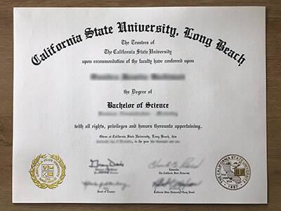 CSULB Fake Degree, California State University – Long Beach Fake Diploma