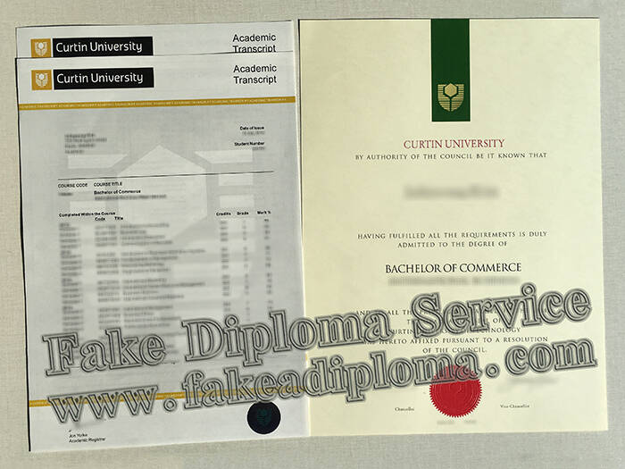 Fake Curtin University Diploma