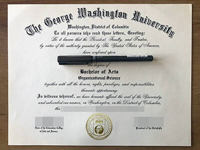 Choose A Fake George Washington University Degree Maker