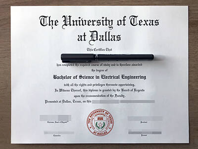 Copy The University of Texas at Dallas Fake Degree, Fake UTD Transcript
