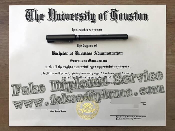 Purchasing A Fake University of Houston Degree Online