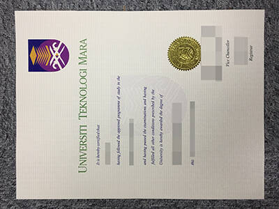 Copy A Fake Universiti Teknologi MARA Diploma Certificate