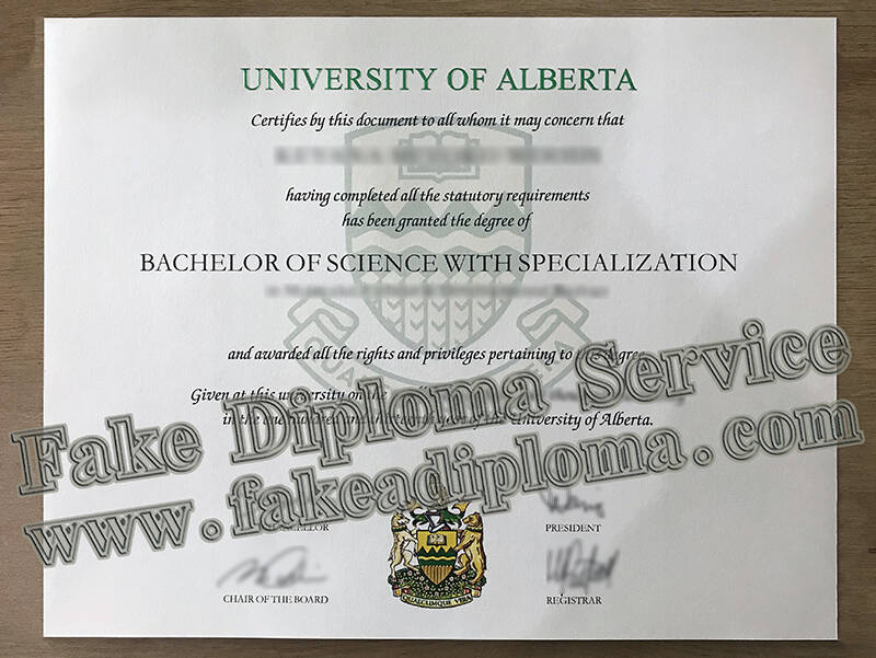 Order A University of Alberta Fake Diploma to Find A Good Job, Fake UA Degree