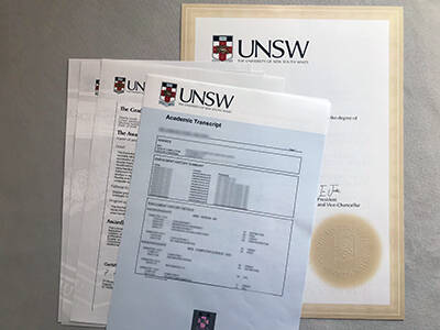Printing The University of New South Wales Fake Diplomas, How to Copy Fake UNSW Transcript?