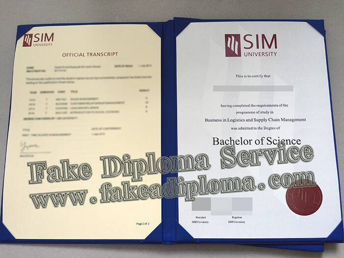 Fake SIM University Diploma And Transcript