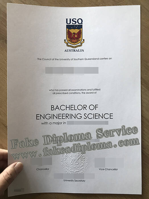 Get A Fake USQ Degree, Fake University of Southern Queensland Diploma